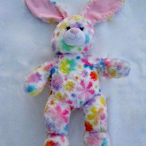 "Build A Bear Bunny Rabbit Easter Spring Floral 18"""
